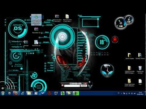 Cambiar reproductor de musica y escritorio con alienware(link)