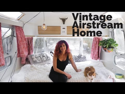 Vintage Airstream Tour | Living the Vanlife in a Tiny Home