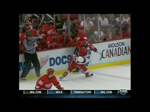 2009 Playoffs: Chi @ Det - Game 2 Highlights