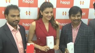 Kajal Aggarwal Cute and Lovely Speech At Happi Mobile Store Launch | Latest Telugu News