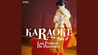 Y Tu Te Vas Karaoke Version