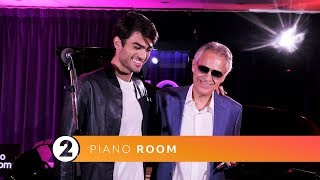 Andrea Matteo Bocelli Perfect Symphony Ed Sheeran Radio 2 Piano Room