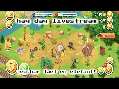 hay day livestream - jeg får en elefant!