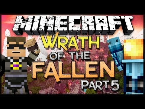 Minecraft: Wrath of the Fallen w SkyDoesMinecraft Part 5