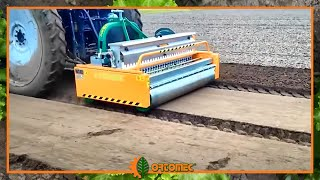 ORTOMEC seeding machine MULTI-SEED work on open fiel 2016