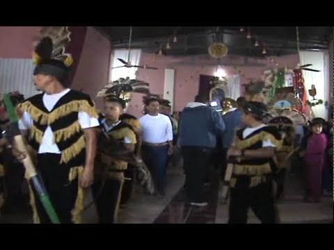 LLEGADA DEL SENOR DE LA EXPIRACION. Peregrinacion Pueblo Juarez a La Esperanza, Colima.