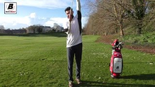 Square the clubface with Driver