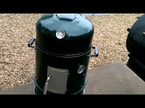 Master Forge Vertical Charcoal Smoker Part Two - and mods from UDS