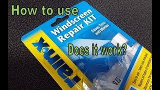 RainX Windshield Repair - Does it work?