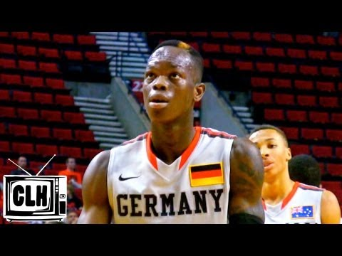 Dennis Schröder 2013 NBA Draft Prospect - Nike Hoop Summit Highlights - German Point Guard