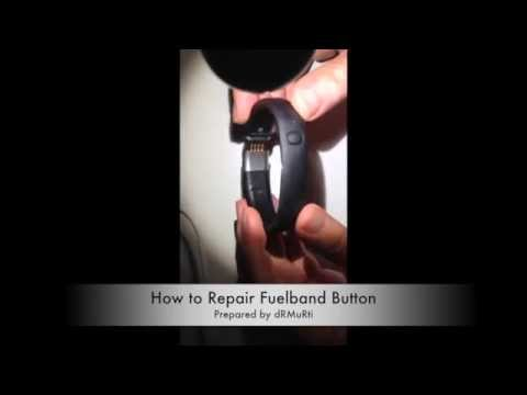 How to Repair Fuelband Button / Nike Fuelband Buton Tamiri