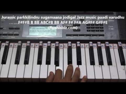 Mukkala mukabula laila o laila (Tamil)  - Piano Tutorials