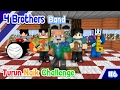 ♫ Naik Turun Challenge ft Anto - 4 Brothers Band ♫ - Minecraft Animation Indonesia #6