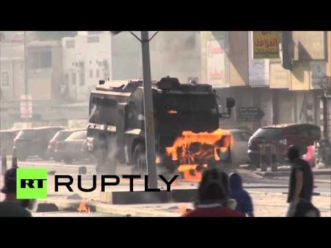 Bahrain street battles: Shooting, Molotov cocktails & stones