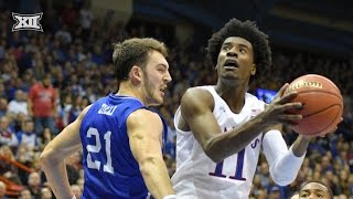 Freshman Jackson is Huge for Kansas MBB