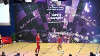 Chiara Pütz & Christopher Pütz - Deutsche Meisterschaft 2016