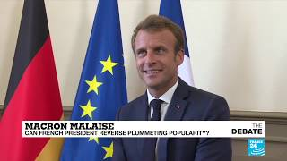 Macron malaise: Can french president reverse plummeting popularity?