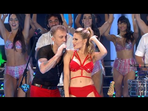 El Polaco reapareció después de la sunga y estrenó tema con Agapornis en vivo