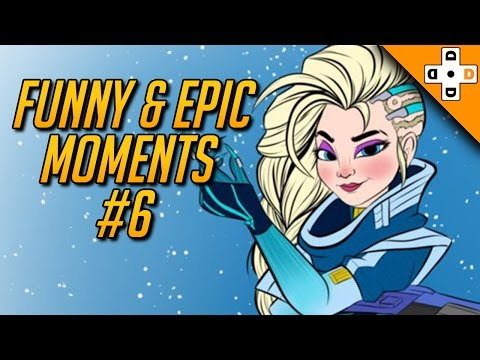 Overwatch Funny & Epic Moments #6 - Highlights Montage