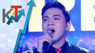 TNT All Star Grand Resbak Round 1 Sofronio Vasquez sings Michael Buble's 'Feeling Good'