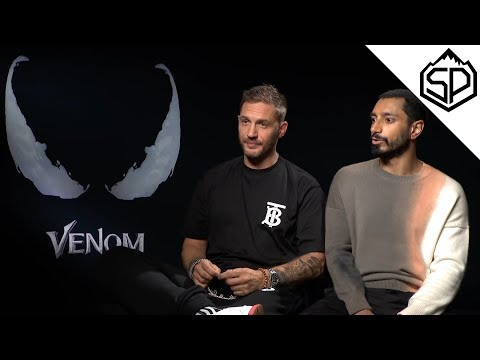 Том Харди и Риз Ахмед о возрастном рейтинге Венома и кроссовере со Мстителями