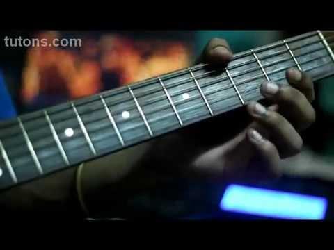 Tujhe dekha to ye jaana sanam DDLJ - Guitar Tabs  Lead cover