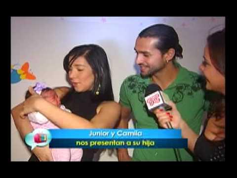 Junior y Camila nos presentan a su hija