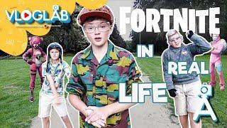 Fortnite in real life?! | Vloglab