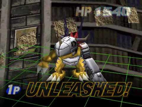 Digimon Digital card battle: Omnimon Vs DEMAN
