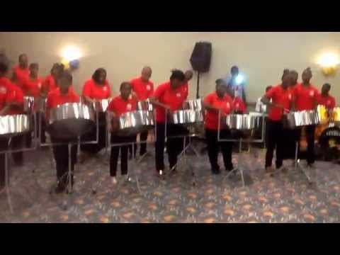 Salem Baptist Church Jamaica Steel Pan Orchestra.         The Blue Danube Waltz.         10/24/2015