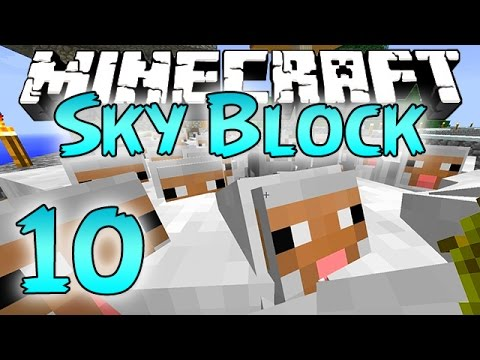 Minecraft: SkyBlock Survival Episode 10 - FARM ANIMAL ARMY! thumbnail