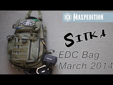 Maxpedition Sitka EDC bag contents Mach 2014