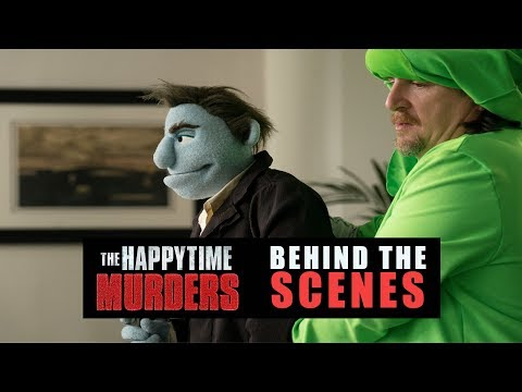 'The Happytime Murders' Behind The Scenes