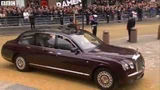Thatcher funeral_ Queen and Prince Philip arrive at St Paul