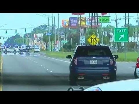 Witness recounts Baton Rouge police shootout