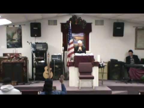 Bro David Terrell 1-9-15 AM Mobile AL Preaching
