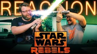 "Star Wars Rebels 2x1 REACTION and DISCUSSION ""The Siege of Lothal"""