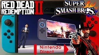 Nintendo Switch Killer Mate 20 X | RDR 2 Review Embargo | Direct Oct 18 | Smash Ultimate Main Theme