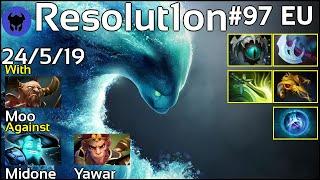 Resolut1on [Forward Gaming] plays Morphling!!! Dota 2 7.19