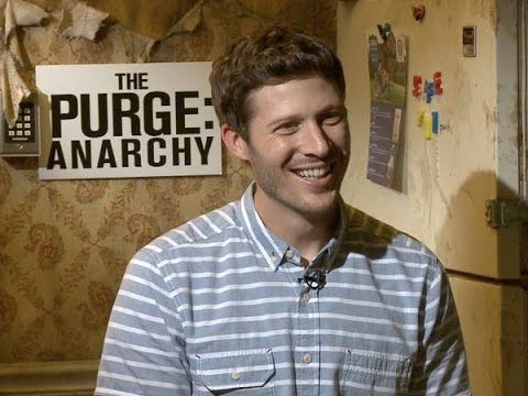 Zach Gilford Talks 'The Purge: Anarchy'