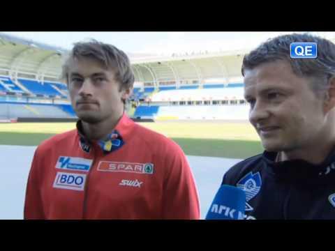 """Petter Northug and Ole Gunnar Solskjaer: """"En vits har som regel et poeng"""" [HD]"""