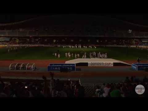 Ceremonia de inauguraci�n Donosti Cup 2014