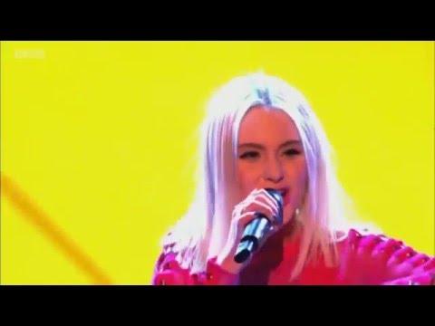 Zara Larsson & Tinie Tempah - Live @ The Voice UK - Lush Life + Girls Like