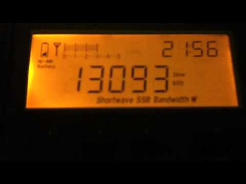 Odd Repeating Message - 13093kHz