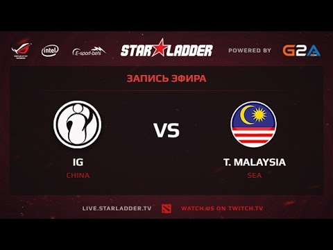 IG vs Malaysia, SLTV XII Lan Finals WB Semifinals, Game 1