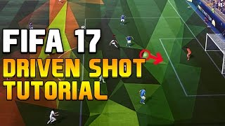 Fifa 17 Shooting Tutorial: DRIVEN SHOT – FULL BREAKDOWN (NEW OVERPOWERED SHOT IN FIFA 17)