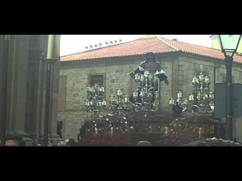 Salida de la Procesión de Jesús Despojado. Semana Santa Salamanca 2013