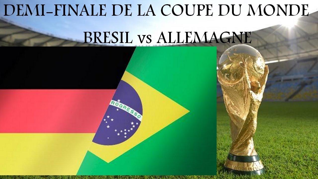 Coupe du monde 2014 1er demi finale bresil vs allemagne - Coupe du monde 2014 bresil allemagne ...