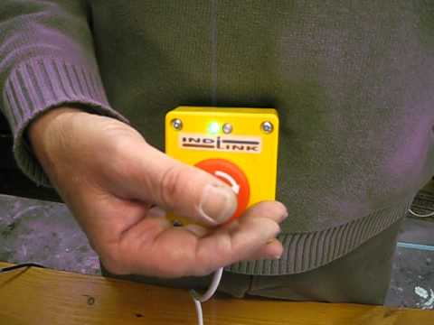 Emergency STOP + Indi-Link,  new invention helps you see circuits working.