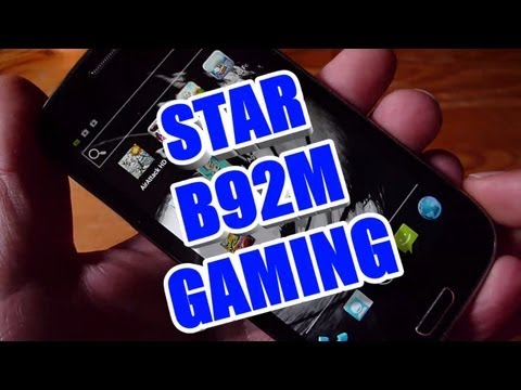 Star B92M Gaming & 007 Skyfall LWP Review Test - HDC Galaxy S3 i9300 Ex Lte - MT6577 ColonelZap